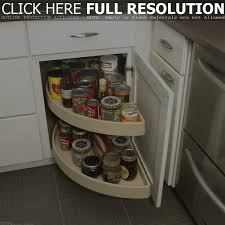 kitchen corner cupboard rotating shelf kitchen corner cabinet storage ideas 2017
