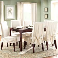Plastic Chair Covers For Dining Room Chairs Decorating Brown Dining Chair Slipcovers Remarkable Clear