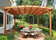 Canadian Woodworking Magazine by Build An Arched Pergola Canadian Woodworking Magazine Patio