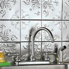 Embossed Tin Backsplash by 46 Best Granite And Back Splash Options Images On Pinterest