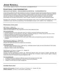 Life Insurance Agent Resume Under Writer Resume Resume Underwriter Resume Example Life