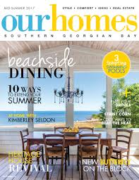 cape cod style home on the shores of georgian bay our homes magazine
