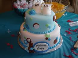Welcome Home Cake Decorations Baby Bootie Cakes With Cute Pictures And Ideas