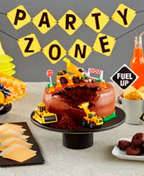 construction party supplies food celebrations how to throw a construction party walmart