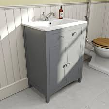 the bath co camberley grey cloakroom vanity with resin basin