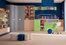 endearing blue green awesome kid bedroom decoration design ideas