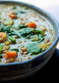 cuisine vegan instant pot vegan golden lentil spinach soup kitchen treaty
