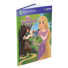 leapreader tangled disney u0027s story rapunzel activity storybook