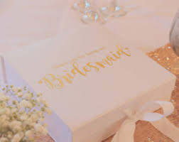 gold foil gift boxes bridesmaid gift box personalised luxury gift box wedding