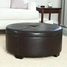 Leather Storage Ottoman Coffee Table New Interior Wicker Storage Ottoman Oval With Topic Related To The
