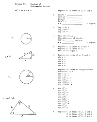 Sin Cos Tan Worksheet Algebra And Geometry Review Worksheets About Example With Algebra