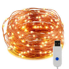 copper wire led lights wholesale 10m 100 leds copper wire led string lights usb powered