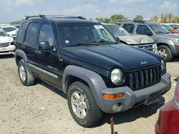 2003 blue jeep liberty clean title 2003 jeep liberty 4dr spor 3 7l 6 for sale in