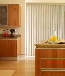 clean laminate floor with wooden kitchen set plus white vinyl