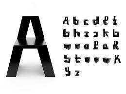 justletters design buchstaben stuhl - Buchstaben Design