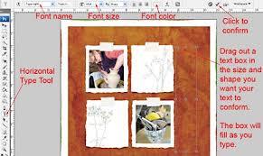tutorial membuat scrapbook digital photoshop tutorial justified text