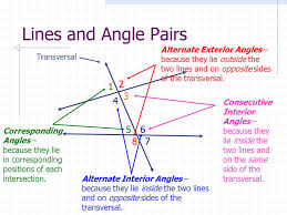 Alternate Corresponding And Interior Angles Perpendicular And Parallel Lines Ppt Video Online Download
