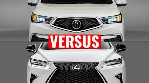 lexus rx350 or mdx 2015 acura mdx vs lexus rx comparison youtube
