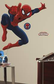 roommates ultimate spiderman giant wall decals wall sticker shop