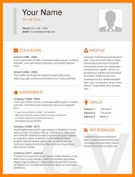 basic resume layouts 7 simple resume exles resume sections