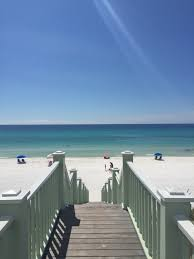 view from the pensacola beach pavilion cottage rental agency