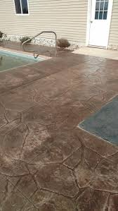 Flagstone Stamped Concrete Pictures by Old Time Masonry U0026 Stamped Concrete Co Stamped Concrete Arizona