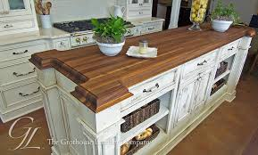 kitchen island top ideas walnut wood countertop kitchen island new orleans louisiana