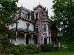 awesome old victorian house design with walls cladding of white