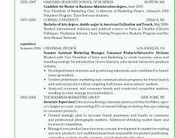 harvard resume harvard resume template business school resume template harvard