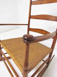 Antique Pressed Back Rocking Chair Antique Shaker No 7 Rocking Chair With Shawl Bar At 1stdibs