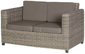 Two Seater Rattan Outdoor Sofa Garden Chairs - Rattan outdoor sofas