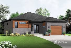 contemporary one story house plans contemporary single storey drummond house plans