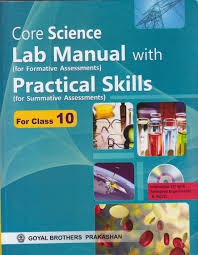 lab manual with practical skills core science for class 10 with