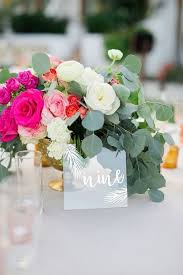 acrylic table numbers wedding 39 acrylic and lucite wedding decor ideas happywedd com