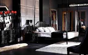 Black Lacquer Bedroom Furniture Black High Gloss Lacquer Transitional Style Bedroom Set