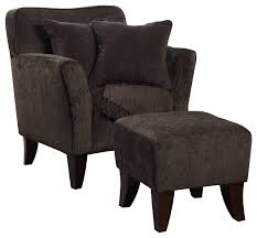 Accent Chair With Ottoman Cozy Accent Chair With Ottoman Pillows And Throw Armchairs And
