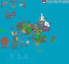 Hoenn Map Padventures Best Pokemon Online Server Poke Tibia