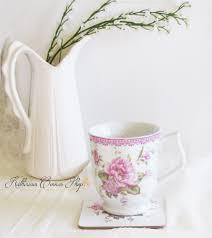 pink peonies tea mug set blogs i follow pinterest peony