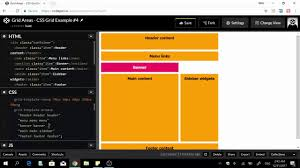 css tutorial layout template adding empty grid cells in your layout css grid tutorial 5 youtube