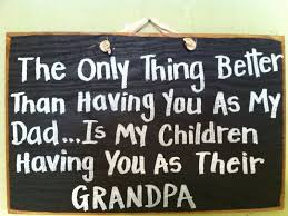 great dads get promoted to mothers fathers grandparents signs