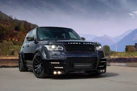 land rover 2007 black range rover vogue 2013 lumma clr r black in russia topcar