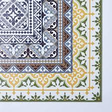 mediterranean vinyl kitchen mats on food52 laundry room floor