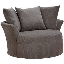 Swivel Club Chairs For Living Room by Sax Swivel Chair Grey 329766284428 Contemporary Furniture