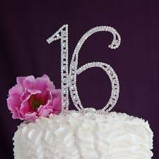 number cake topper rhinestone wedding cake toppers ebay