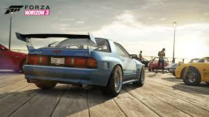 mazda rx7 2016 alpinestars car pack brings seven new cars to forza horizon 3 and