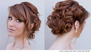 bridal hairstyles bridal hair and makeup photos hair comes the