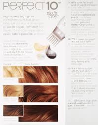 amazon com clairol perfect 10 by nice u0027n easy hair color 007