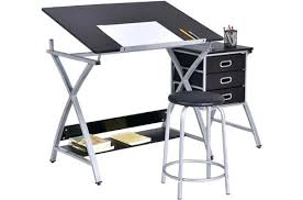 Cad Drafting Table Drawing Desk Cad Drawing Table W Storage Drawers Icedteafairy Club