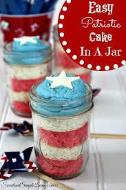 jar cakes easy patriotic cake in a jar recipe