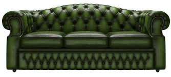 Oxford Leather Sofa Furniture Home Chesterfield Oxford Genuine Leather Antique Green